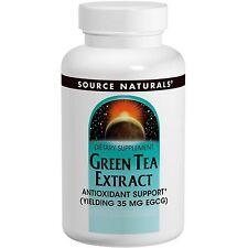 Green Tea Extract, 35 mg EGCG - 60 Tablets - Source Naturals
