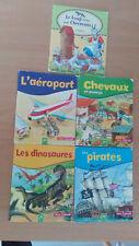 LIVRE ENFANT lot 5 petits livres Mini Savoir