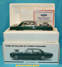 1-18 Autoart/Biante Ford XR GT Falcon Street Machine Empire Green #72893