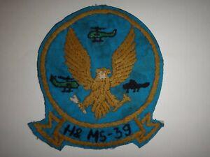 Vietnam Guerre Usmc Siège Social & Maintenance Escadron H&MS-39 Main Cousu Patch