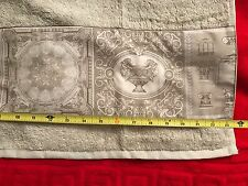 """VERSACE TOWEL LIONS URN BAROQUE 43"""" x 23"""" inch AUTHENTIC ITALY in bag SALE"""