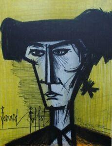 BUFFET Bernard : le Torero- LITHOGRAPHIE originale signée, 1967 par MOURLOT