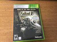 Fallout 3 Game of the Year Edition (Microsoft Xbox 360, 2009) Complete