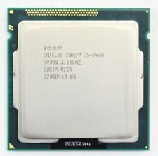 Intel 3.10GHz Core i5-2400 6MB Cache Supports 1066MHz & 1333MHz RAM