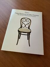 THONET BENTWOOD & OTHER FURNITURE:The 1904 Illustrated Catalogue1980 Paperback