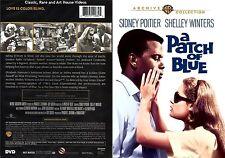 A Patch of Blue ~ New DVD ~ Sidney Poitier, Elizabeth Hartman (1965)
