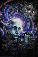 Einstein Theory Poster by: Stephen Fishwick 24-by-36 Inches