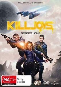 DVD KILLJOYS THE COMPLETE SEASON 1 / 2 DISC SET BRAND NEW UNSEALED FAST POST