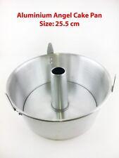 NEW Professional Aluminium Angel Food Cake Pan 2-PC Tin 25.5CM Chiffon Bakeware
