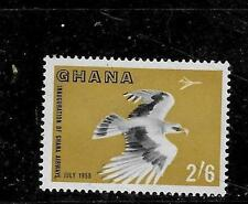 GHANA 1953 SC #35 VULTURE AND AIRPPLANE 2SH6P OLD MNH-MINT SINGLE POSTAGE STAMP