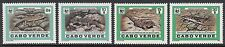 MAMMALS: 1986 CAPE VERDE IS -WWF -Reptiles set SG566-9 MNH