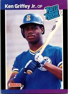 Ken Griffey Jr. Mariners 1989  Donruss Rated Rookie #33