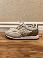 New Balance For J.Crew 620 Sneakers In Gold Salt Women's Size 5.5 Pre-Owned