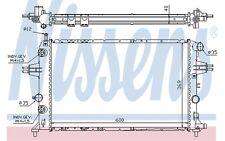 NISSENS Radiador, refrigeración del motor OPEL ASTRA ZAFIRA VAUXHALL 63003A