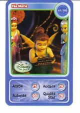 CARTE COLLECTOR DISNEY PIXAR AUCHAN 2010 NUMERO 61 FEE MARIE LES FEES
