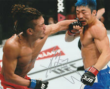TERUTO ISHIHARA SIGNED AUTO'D 8X10 PHOTO UFC 196 FIGHT NIGHTROAD TO JAPAN C