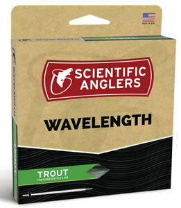 SA Wavelength Trout WF-6 Floating Fly Line -  Willow/Dk Willow - New - Free Ship