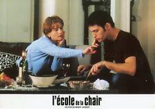 ISABELLE HUPPERT  L'ECOLE DE LA CHAIR 1998 VINTAGE LOBBY CARD #6  BENOIT JACQUOT