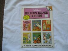 FRANK SCHAFFER F724 HOLIDAYS BULLETIN BOARD POSTERS