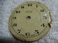 Antique Pocket Watch Face Norvic Lever Swiss Made 79-9LLL