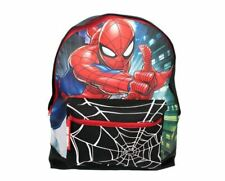 Spiderman Boys Backpack with Front Zip Pocket