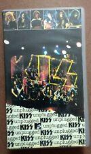 KISS - MTV unplugged. PAL. VHS.