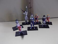 "#A595  7 Naruto Anime Figures from 1.75""in to 3""in  girl figure a bit bent"