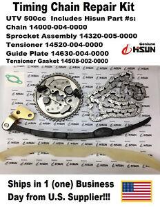 HISUN UTV 500 TIMING CHAIN REPAIR KIT, 14000-004-0000, and More! OEM Hisun