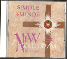 SIMPLE MINDS New Gold Dream CD 9 track BOOKLET 16 page CDV 2230