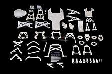 King Motor Dyeable White Nylon Kit for KM 001, 002, HPI Baja 5B