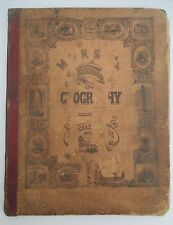 1853 MORSE'S SCHOOL GEOGRAPHY with Cerographic Maps