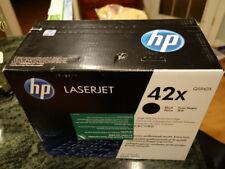 HP 42X Q5942X black high yield original laser toner cartridge LaserJet 4250 4350