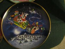 LOT OF 6 LOONEY TUNES LIMITED EDITION PLATES FINE PORCELAIN 1 -1991,1 -92,4 -93