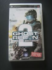 PSP Game Tom Clancy's Ghost Recon 2 Advanced Warfighter Age 16+ Boxed