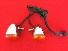 GENUINE 2012 HARLEY SPORTSTER FRONT TURN SIGNALS 68972-00 SOFTAIL DYNA 883 1200