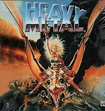 """ HEAVY METAL "" - RARO LASER DISC 1996 ITALY "" BLACK SABBATH  DEVO  SAMMY HAGAR"