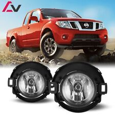 10-19 For Nissan Frontier Clear Lens Pair OE Fog Light Lamp+Wiring+Switch Kit