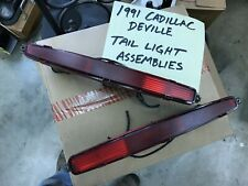 Pair of 1991 Cadillac DeVille Tail Light Assemblies