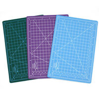 VS2#  A3 A4 A5 PVC Self Healing Cutting Mat Craft Quilting Grid Lines Printed