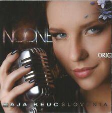"Maja Keuc ""No one"" PROMO Slovenia Eurovision 2011 4 tracks + video"