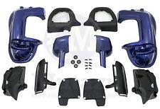 Mutazu Cobalt Blue Lower Vented Fairing Kit for Harley Touring FLHR FLHX FLTR