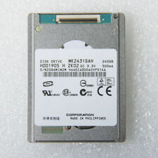 "1.8"" MK2431GAH HDD1905 240GB 8mm ZIF Hard Disk Drive For iPod Video 30 60 80G"