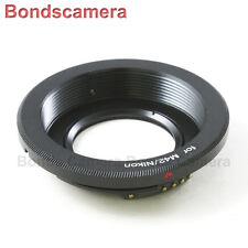 AF confirm M42 Screw Mount Len to Nikon F mount Camera Adapter D90 D5300 optical