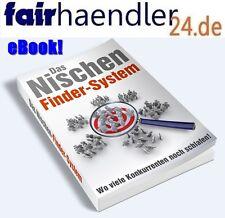 Das NISCHENFINDERSYSTEM Online Business EBAY AMAZON HOOD Geld verdienen E-LIZENZ