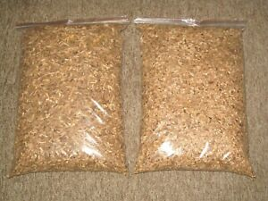 2 x 10l of 100% NATURAL BEST QUALITY SMOKING WOOD CHIPS for BBQ & FOOD SMOKERS