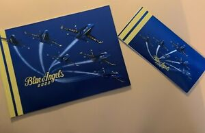 Blue Angels 2020 Yearbook & Brochure - MINT Condition - FREE USPS Priority Ship!
