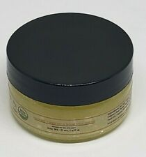 4 oz Organic Turmeric and Neem Sea Salt Face Scrub for Soft Glowing Even Skin To