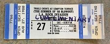 1988 SUMMER OF 88 BLOWOUT COMPTON TERRACE L.A. GUNS ROCK INVASION TICKET STUB