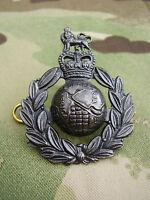 ROYAL MARINES/SBS COMMANDO'S Famous Green Beret Bronze Combat Military Cap Badge