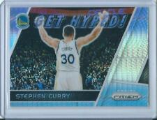 2017-18 PANINI PRIZM STEPHEN CURRY SILVER PRIZM GET HYPED WARRIORS